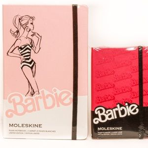 Moleskine Limited Edition Barbie 2 pc notebook set